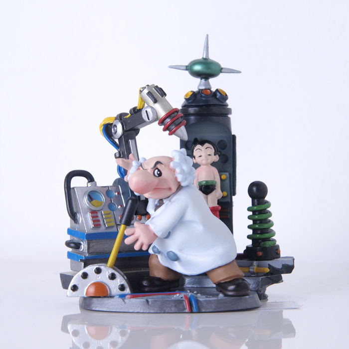 Atom Astro Boy K.T Figures Collection Trading Japan